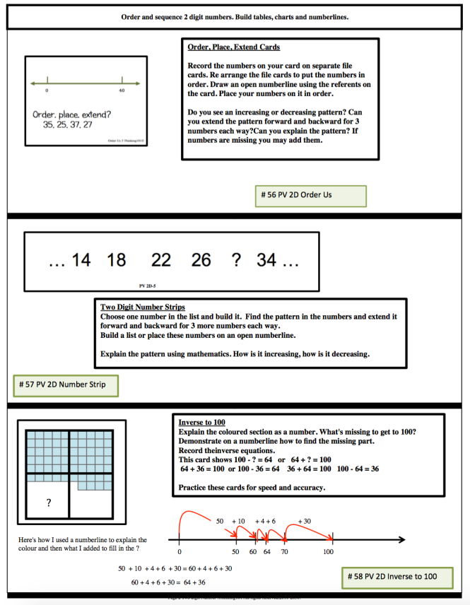 BERCS cards 2 digit page 2