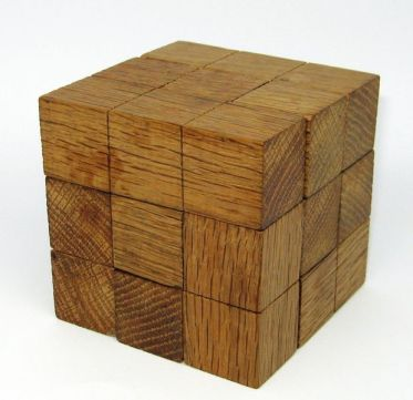 How many cubes in all. Quick as you can.