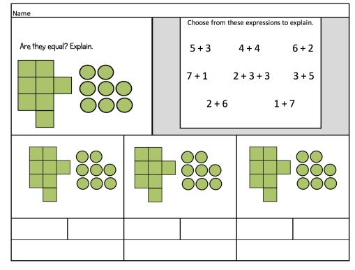 chunk dot worksheet