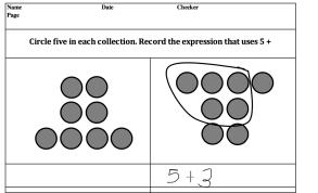 circle 5 and express