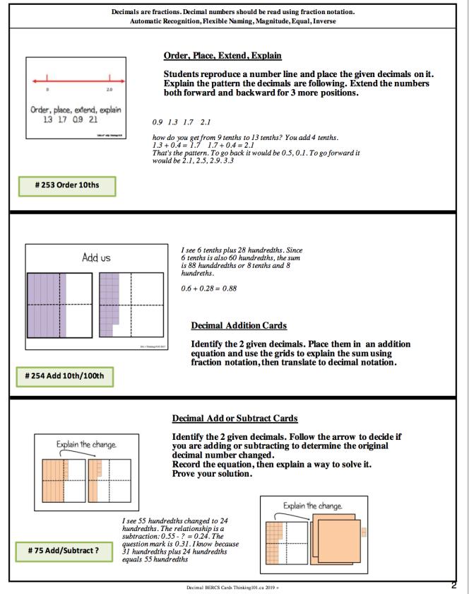 Decimal page 2