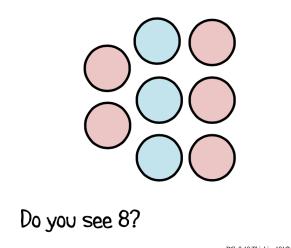Pink Blue Dots