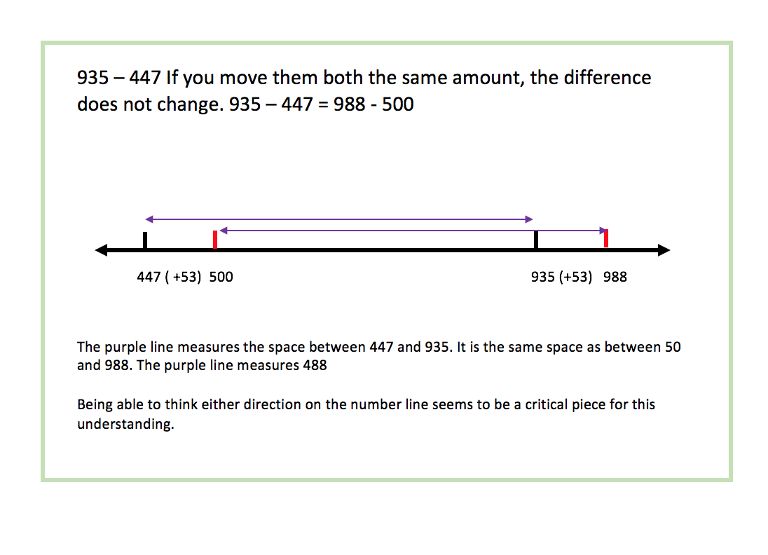 difference 935 to 447